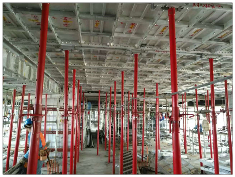 Aluminum Formwork System Project In Philippines Shangri