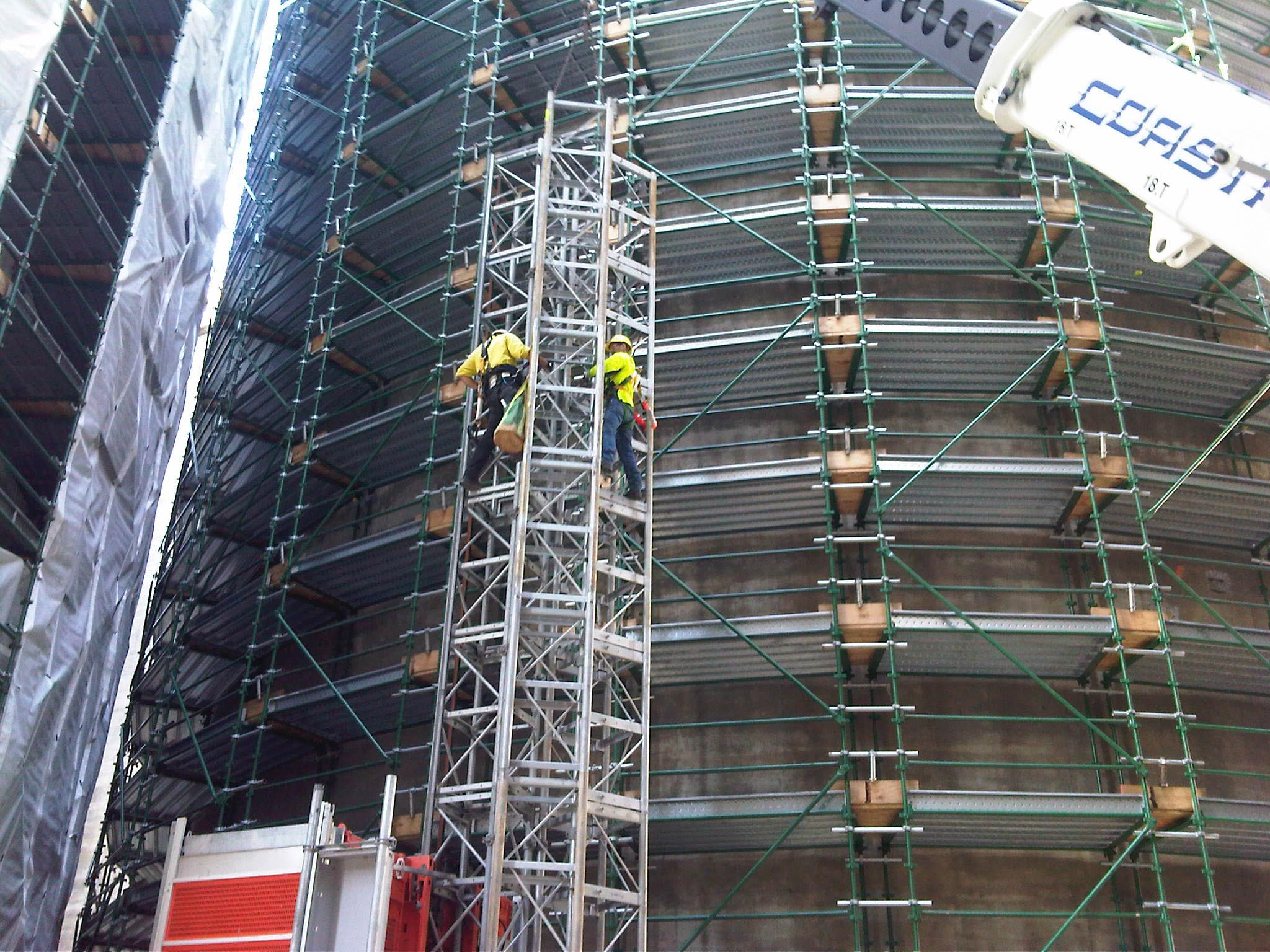 Long Span Scaffolding : What are the features of full frame scaffolding system