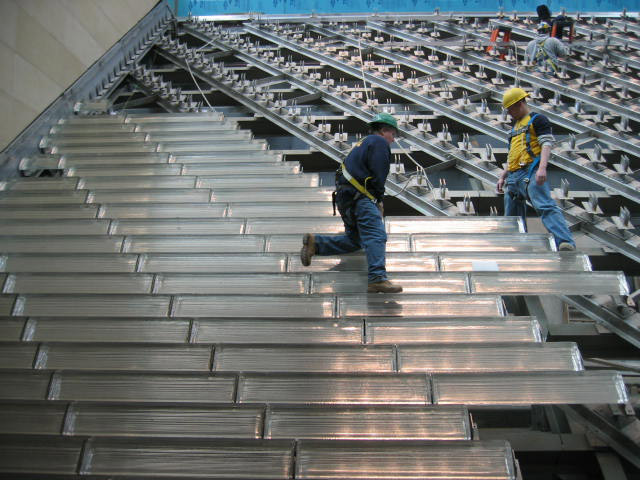 Security Steel Scaffold Planks : What are the good security features of galvanized steel