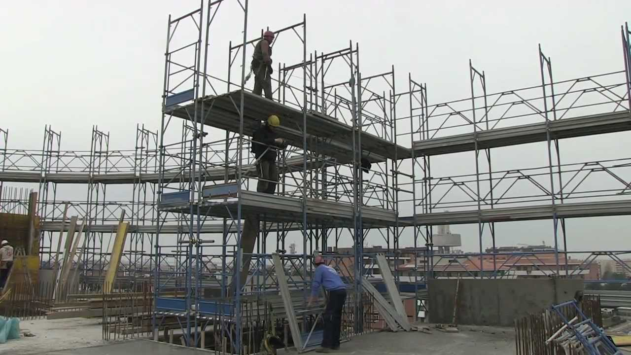 How to Design the Outside Cantilevered Double Scaffolding in A Right Way