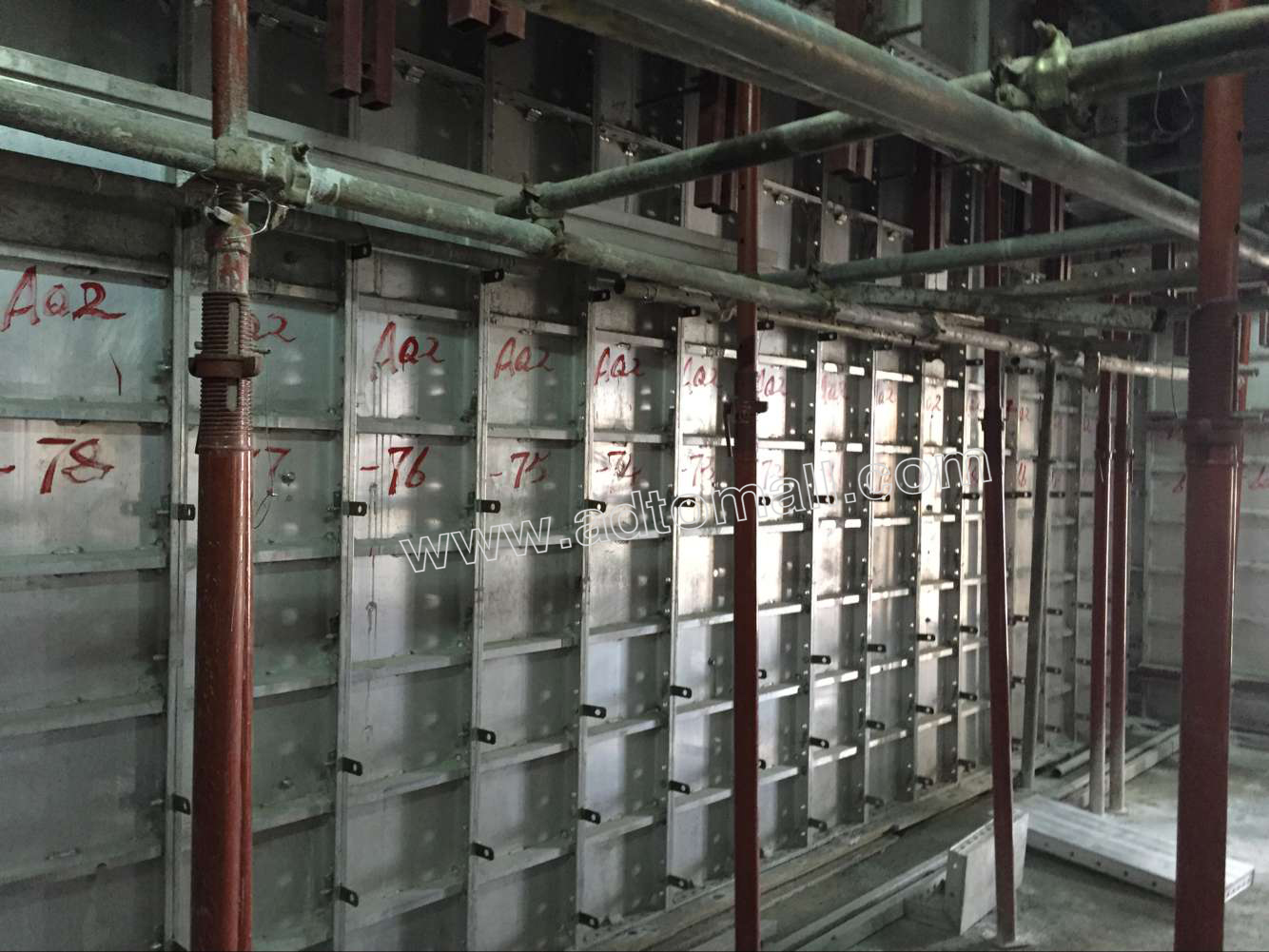 Aluminum Formwork Systems : Formwork systems related keywords long