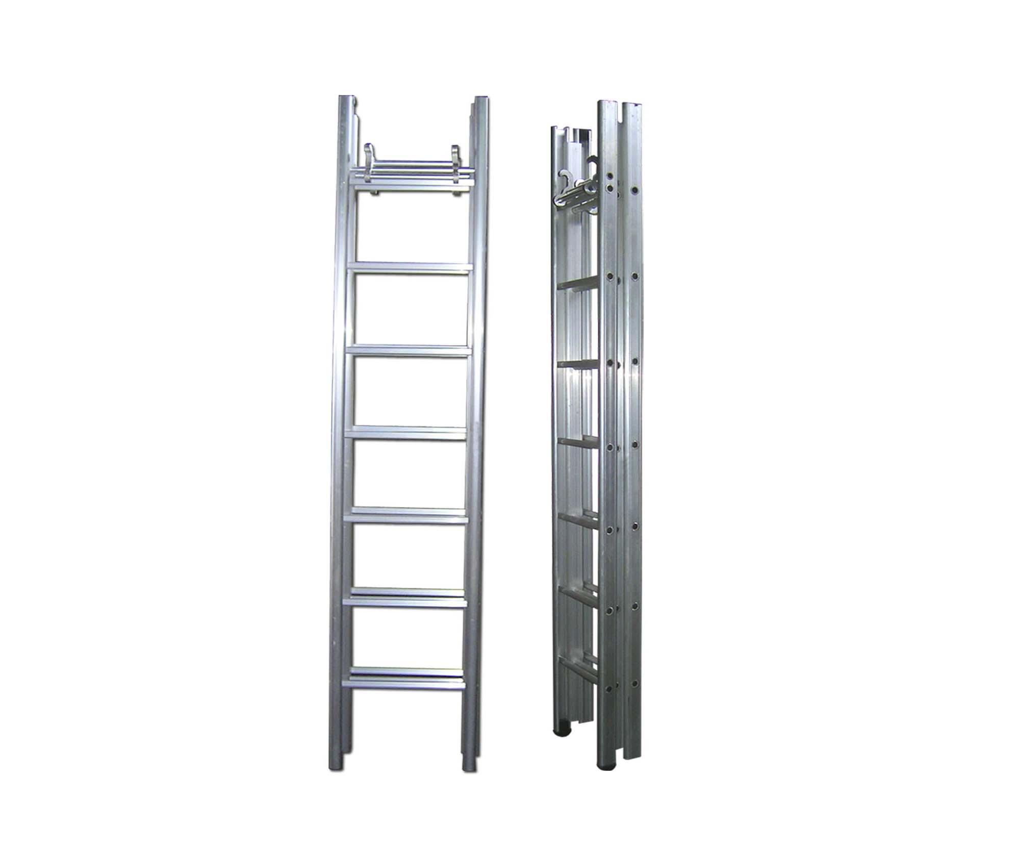 En131 Double Side Extend Folding Aluminum Ladder