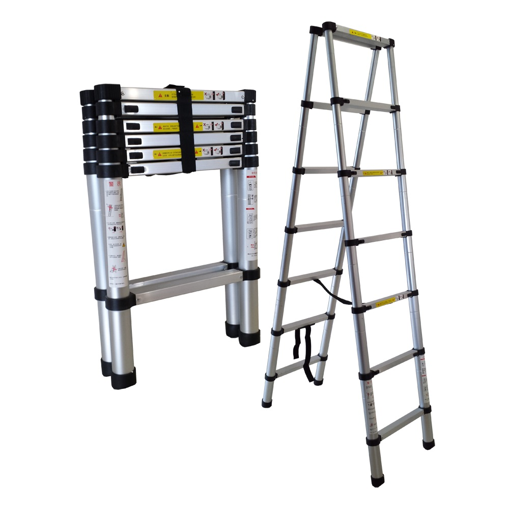 Extend A Step Telescopic Ladder