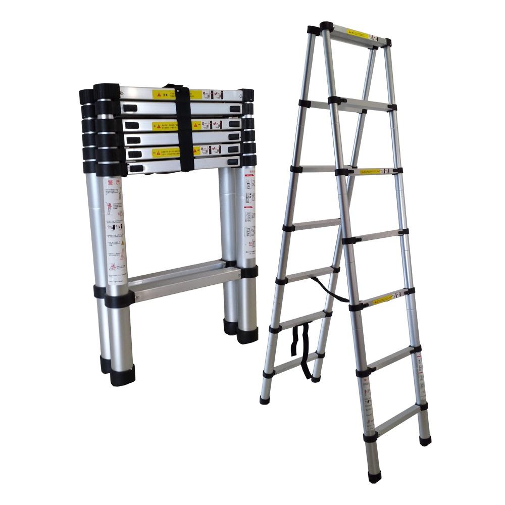 Aluminum Peddinghaus Factory Singapore: Extend A Step Telescopic Ladder