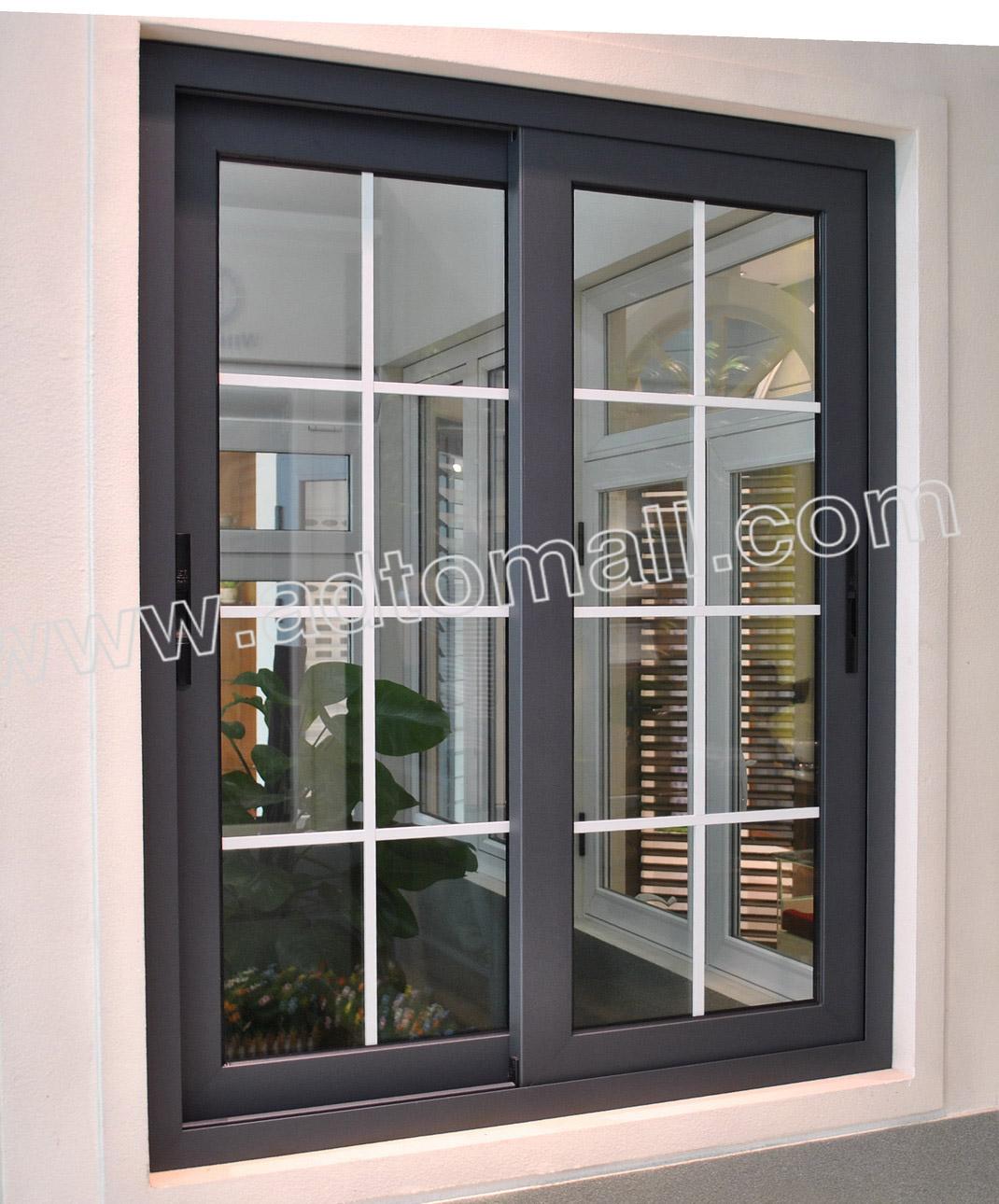 european style aluminum slider window - Home Windows For Sale