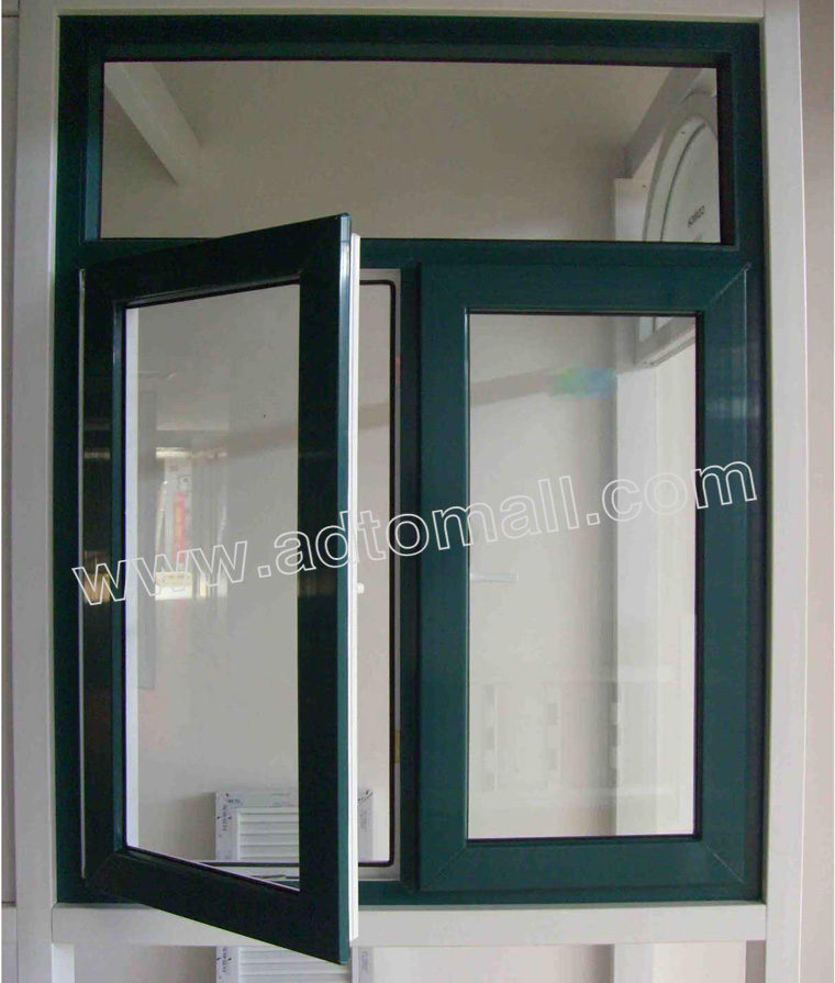 Aluminum Windows Product : European standard customized aluminum windows manufacture