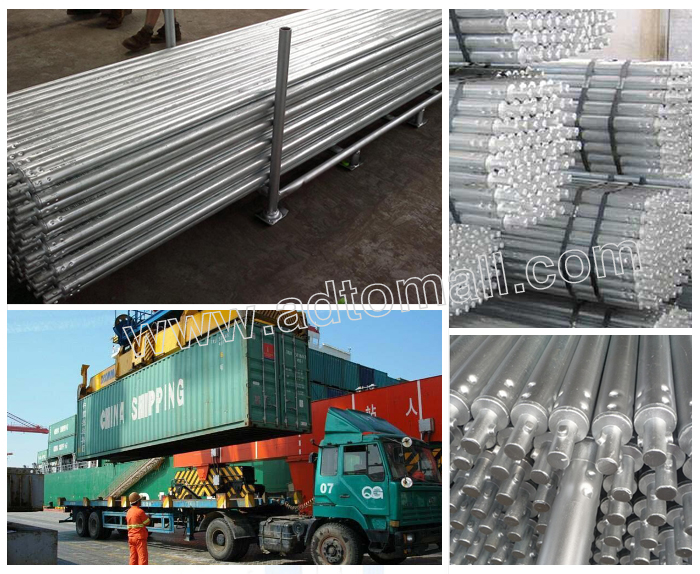 American frame packaging shipping twist tube scaffolding