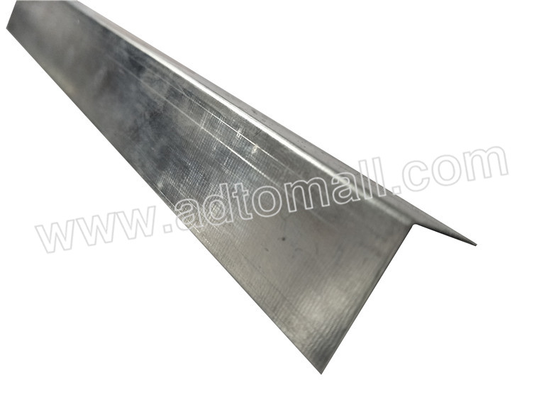 Drywall partition metal studs wall angle with standard sizes
