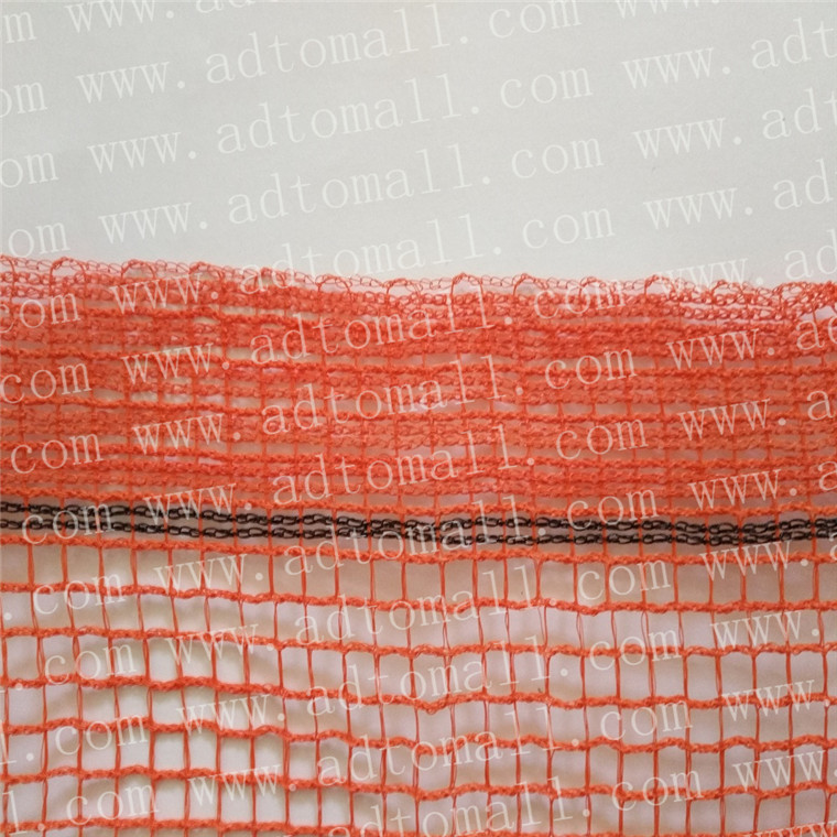 plastic safety net orange color