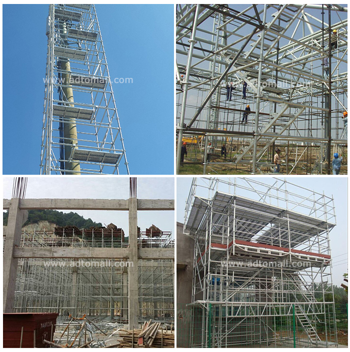 ringlock scaffolding applications