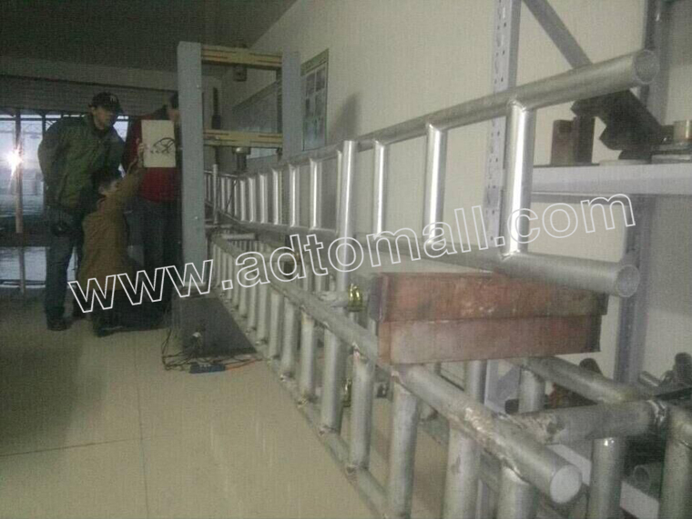 scaffolding ladder beam product test