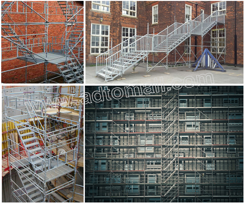 scaffolding ladder applications