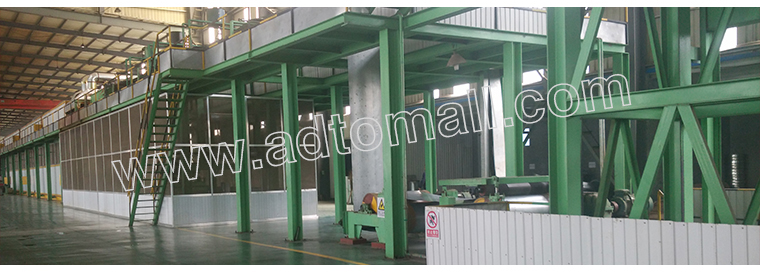 PPGI Steel Coil Production Equipment