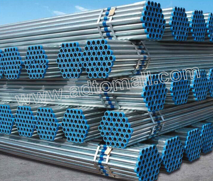hot dipped galvanized pipe product images