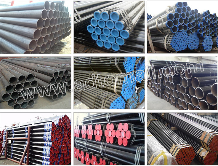 welded pipe packaging and shipping