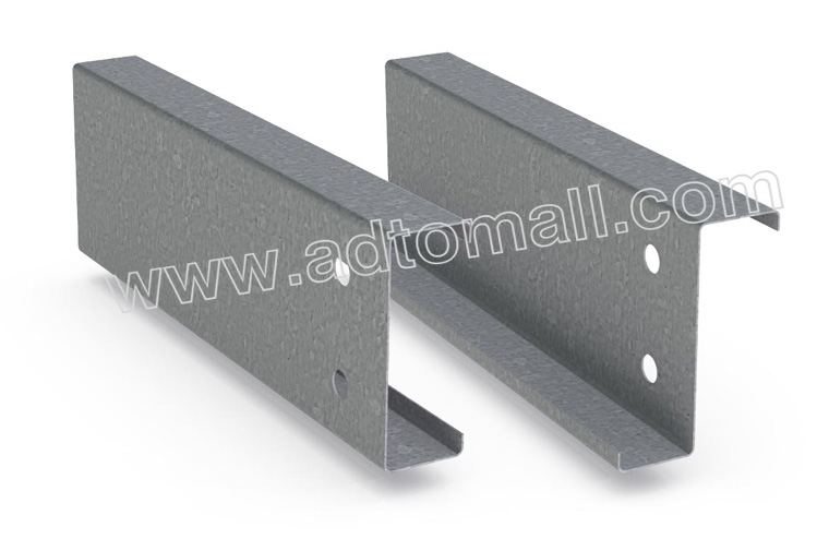 Cold Rolled Galvanized Steel C Z Shaped Purlin