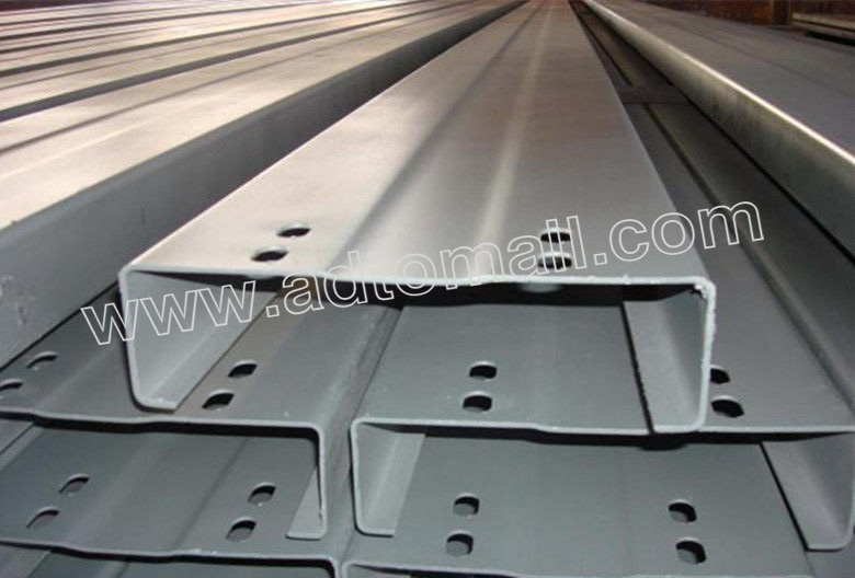 Zinc Coated Steel C Z Channel Purlin Girt