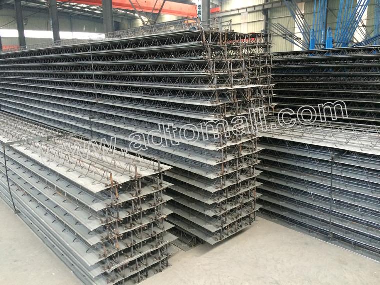 Steel Bar Truss Decking Floor Support Plate