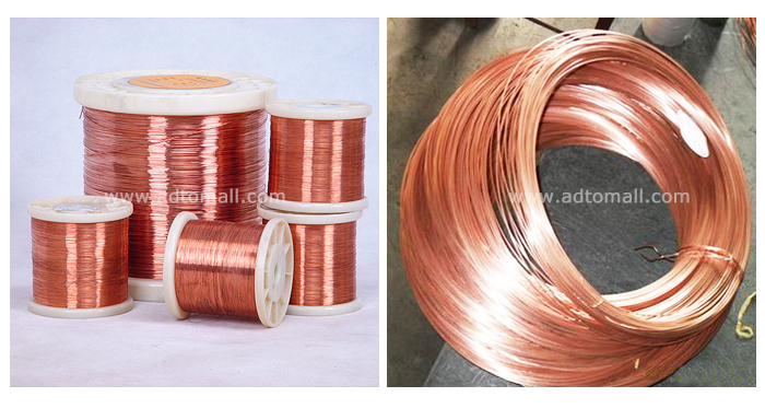 Copper Coated Iron Wire