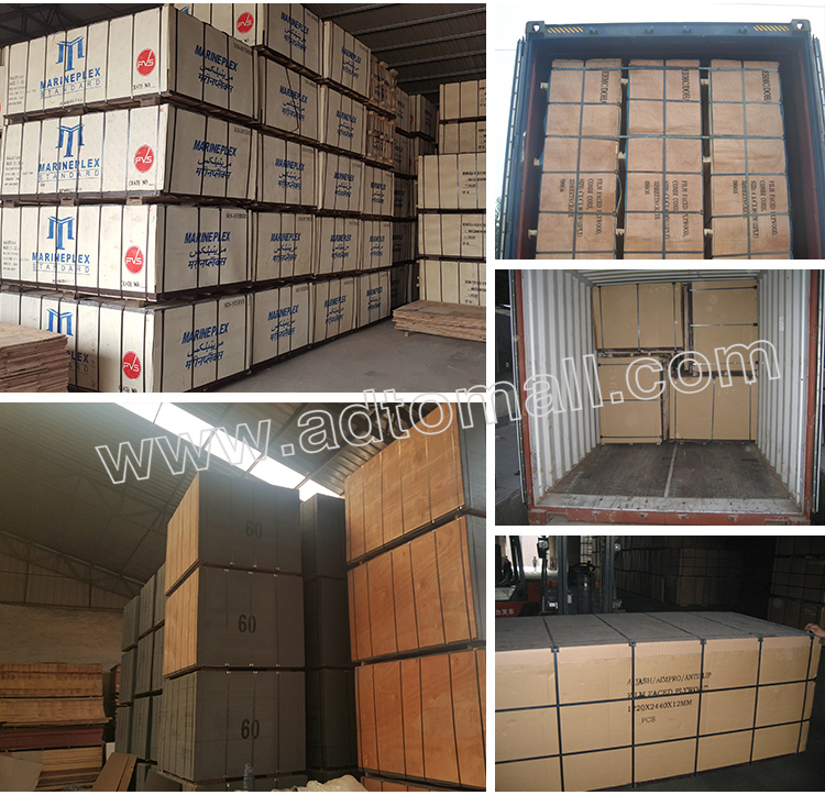 plywood packaging and shipping