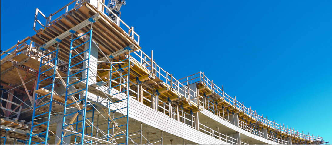 Where To Rent Scaffolding : A glimpse of scaffolding structure used in the constructions