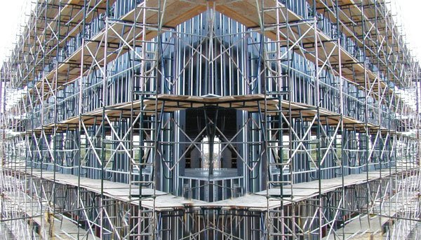 Standard Of Erecting The Double Line Scaffolding With