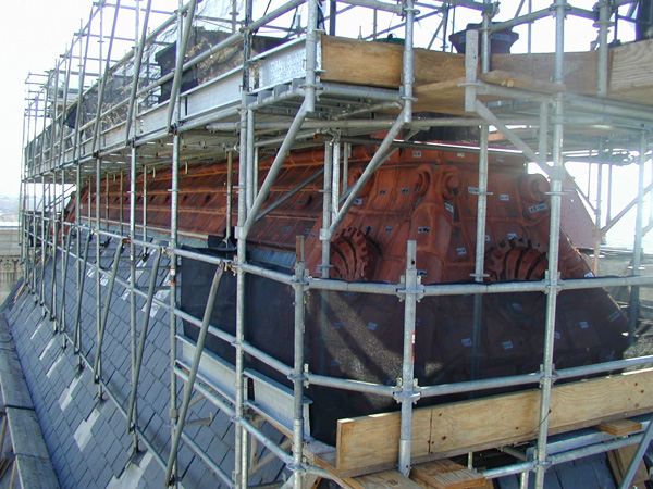 The technique advantages and features the scaffolding has