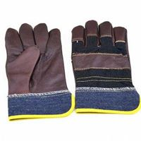 Picture of Short Leather Jean Gloves (glaze)  ADTO-G14