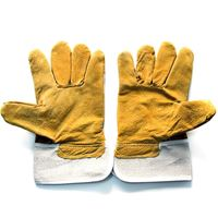 Picture of Short Leather Jean Gloves (Suede)  ADTO-G13