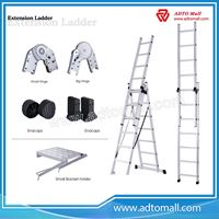Picture of 2 Sections Aluminum Extension Ladder