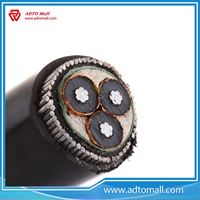 Picture of 35KV Underground XLPE Copper Armoured Power Cable