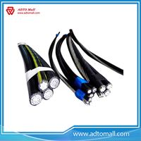 Picture of ABC,AAC,ACSR,AAAC, XLPE Insulated Overhead Aerial Bundle Cable