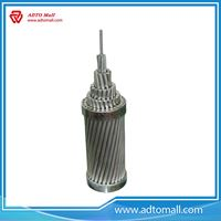 Picture of Overhead Bare Aluminum Conductor AAC AAAC ACSR conductor/ASTM B-231 standard 25mm 35mm 50mm