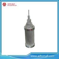 Picture of High Voltage aluminum cable Overhead 100mm2 ACSR conductor AAC/AAAC/ACAR/ACSR conductor