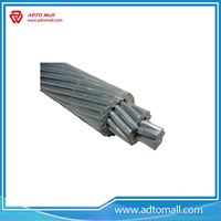 Picture of Bare Overhead Conductor acsr conductor