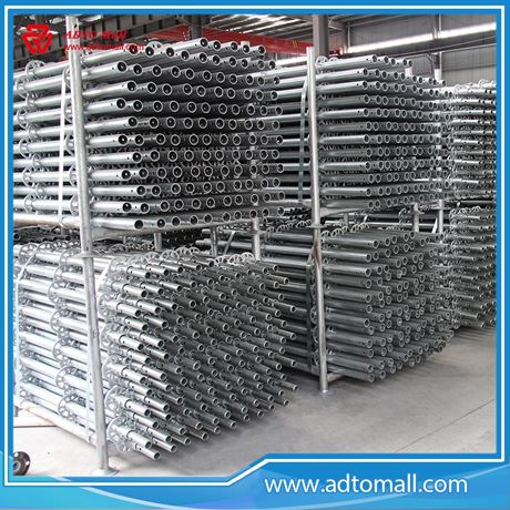 Picture of Hot Dipped-Galvanized Ringlock Scaffolding System with Good Quality
