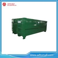 Picture of OEM 3*8*15ft hook lift garbage truck container open top bins from ADTO