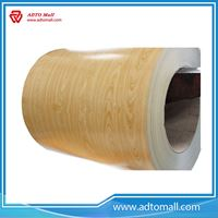 Picture of Wood Grain PPGI Coil Sheet