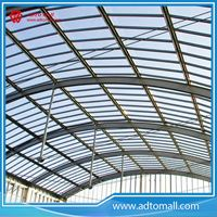 Picture of Prefab Steel Structure Arch Roof Warehouse