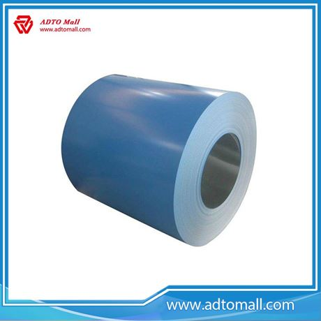 Picture of Color Coated Galvalume Steel Coils