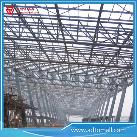 Space Grid Truss Structural Steel Warehouse