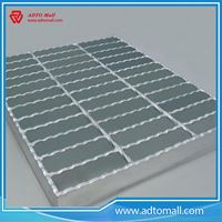 Picture of Zinc Coated Serrated Steel Bar Grating