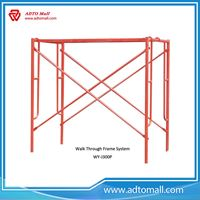 Picture of Wholesale Galvanized Walk Through Frame Scaffolding Frame Scaffolding System
