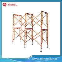 Picture of Steel Walk Through Frame System Scaffold for Construction