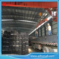Picture of Rectangular Black Steel Pipe RHS Hollow Section For Wholesale