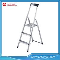 Picture of 3 Step Domestic Aluminum Step Ladder