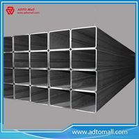 Picture of 150mmx150mmx5mmx6m Black Square Tube