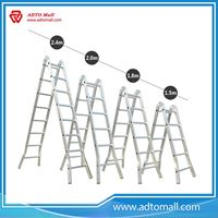 Picture of Folding Dual-purpose Ladder with Hinge