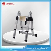 Picture of 3.8M Double Side Extension Ladder Telescopic