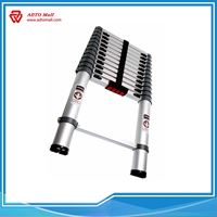 Picture of Aluminum Extension Compact Telescopic Ladder Single Side